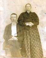 Isaac and Sarah Jane Climer around 1900